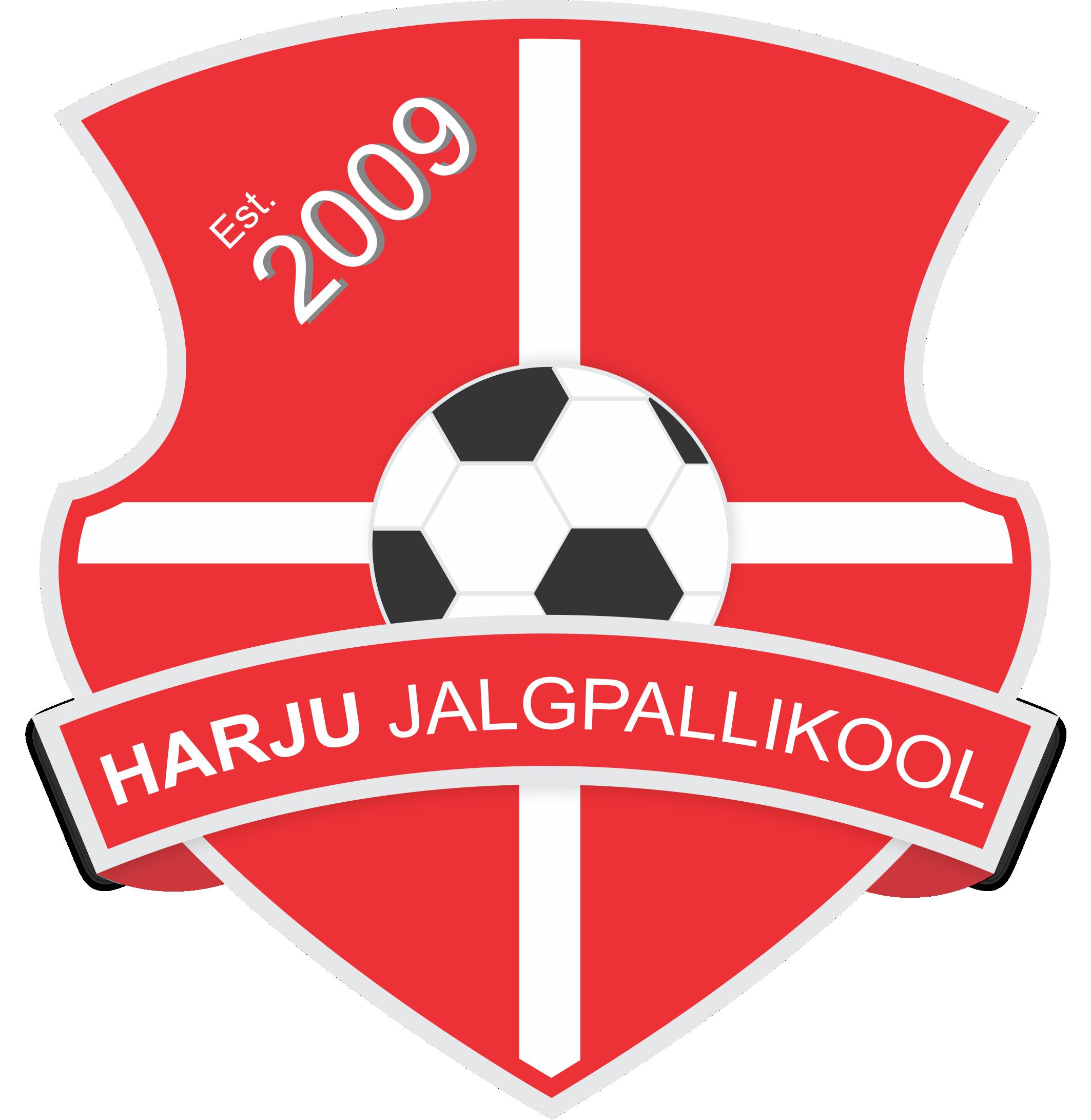 Harju Jalgpallikool logo